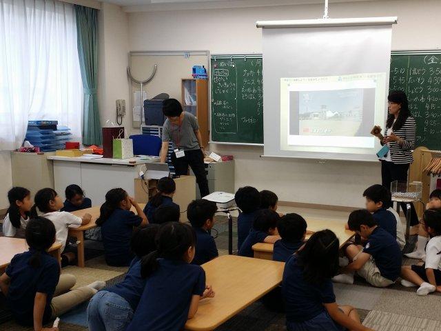 新渡戸文化アフタースクールで磁石の授業