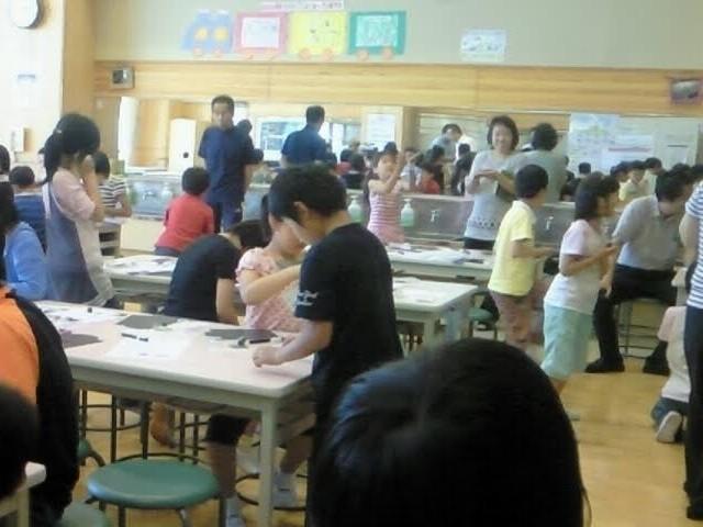 山形県の小学校で磁石の授業