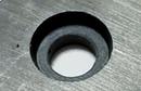 異方性フェライト磁石角型段穴付(2)