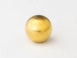 ネオジム磁石ボール(球)型 金メッキ
