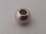 ネオジム磁石ボール(球)型 Niメッキ 7φ(3.1φ穴付)